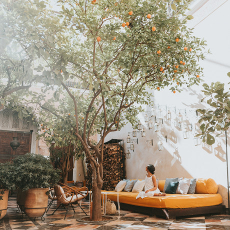 Get the Look: One of Marrakech's Most Photographed Bohemian Boutique Hotels