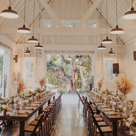 Get the Look: A Modern Farmhouse Venue in Los Angeles