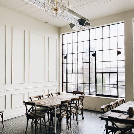 Get the Look: A French Industrial Venue in Portland