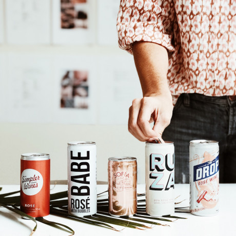 The Rosé Review: Our Taste Test Of 6 Canned Options