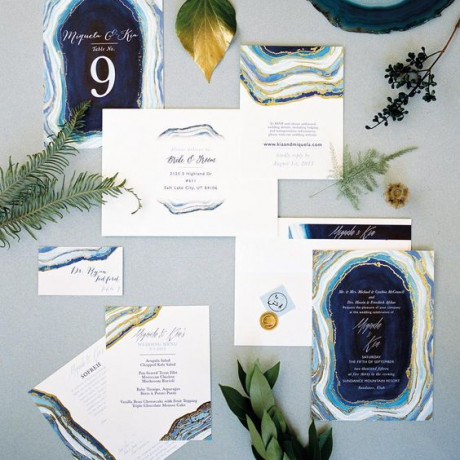 These 9 Wedding Invites are Totally Trending Right Now