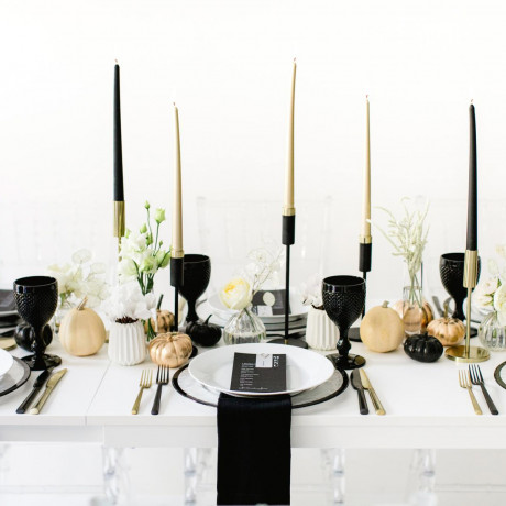 11 Spooky-Chic Decor Ideas for This Year's Halloween Party