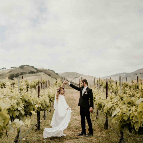 From the Desert to the Coast: Central California's Best Wedding Venues