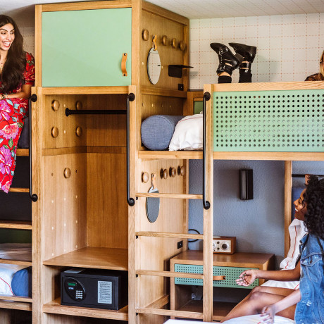 Luxury Hotels with Bunk Beds Are Seriously Trending, Here's Why