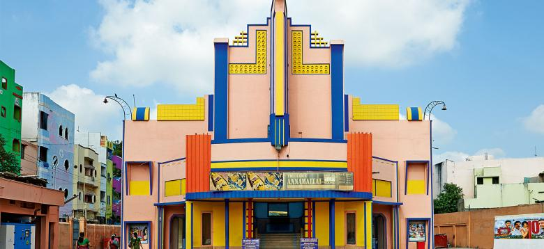 These Mid-Century Cinemas in South India Have The Best Color Palettes Ever