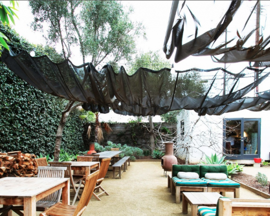 Throw a Minimalistic Garden Party on Abbott Kinney