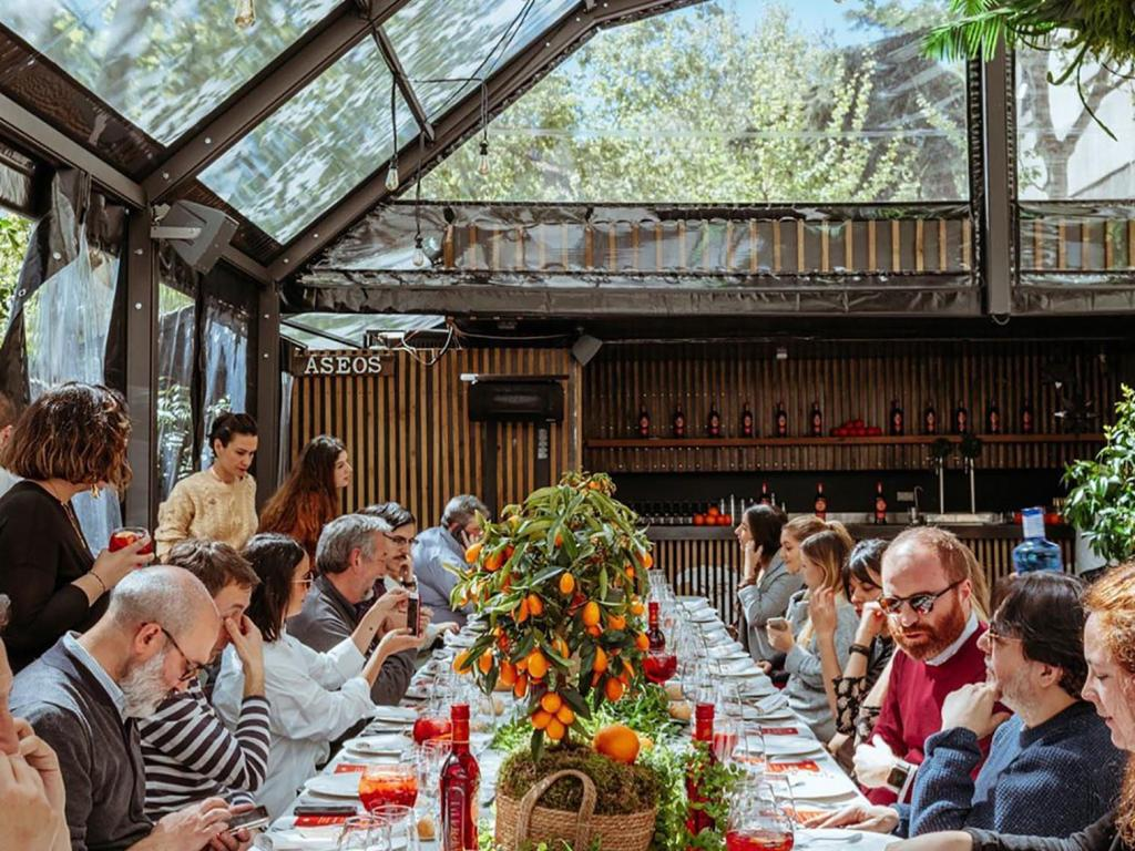 Dine like a Local at This Museum Garden in Madrid