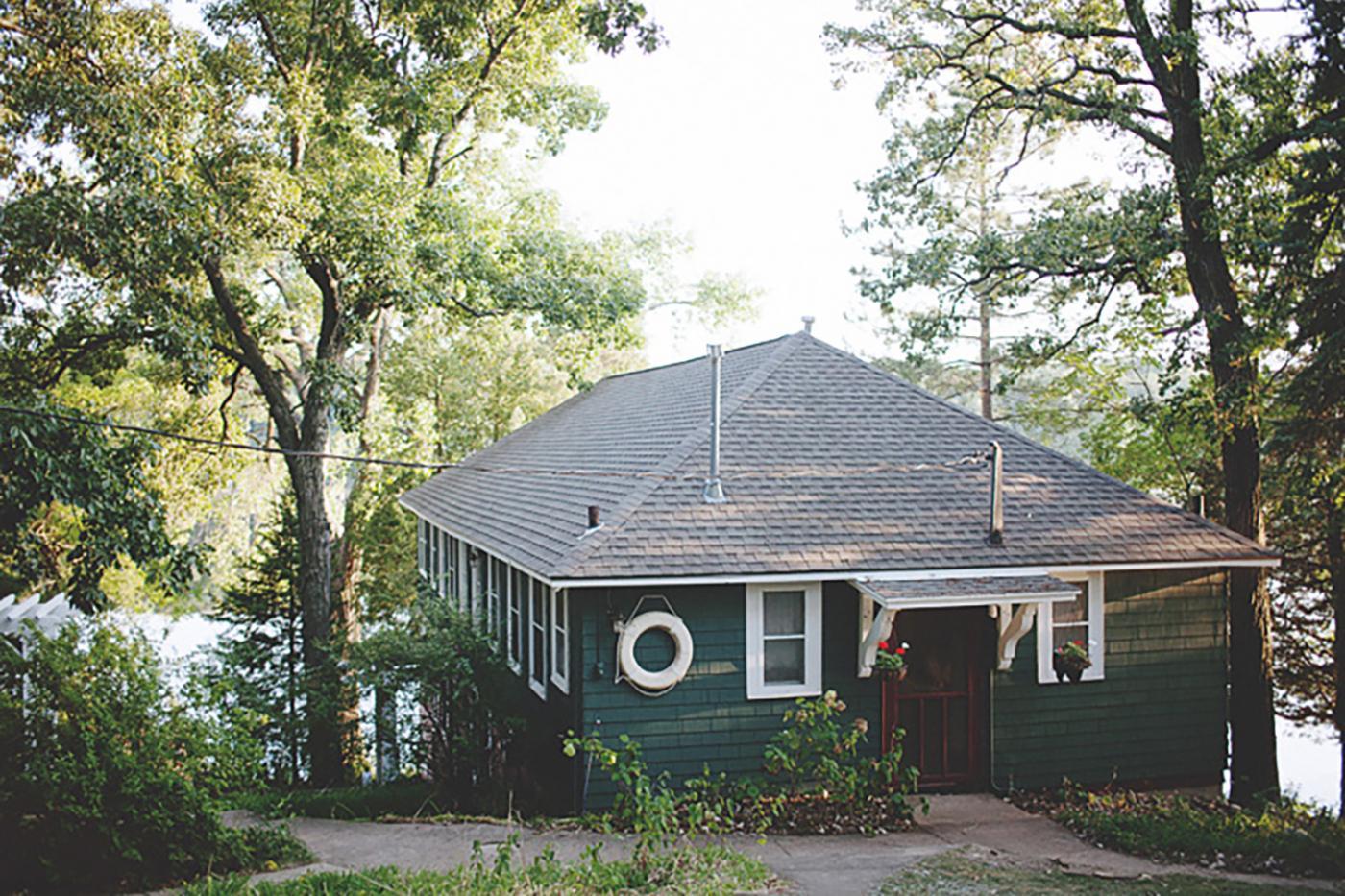 Take in the fresh air at Camp Wandawega, every camper's dream.