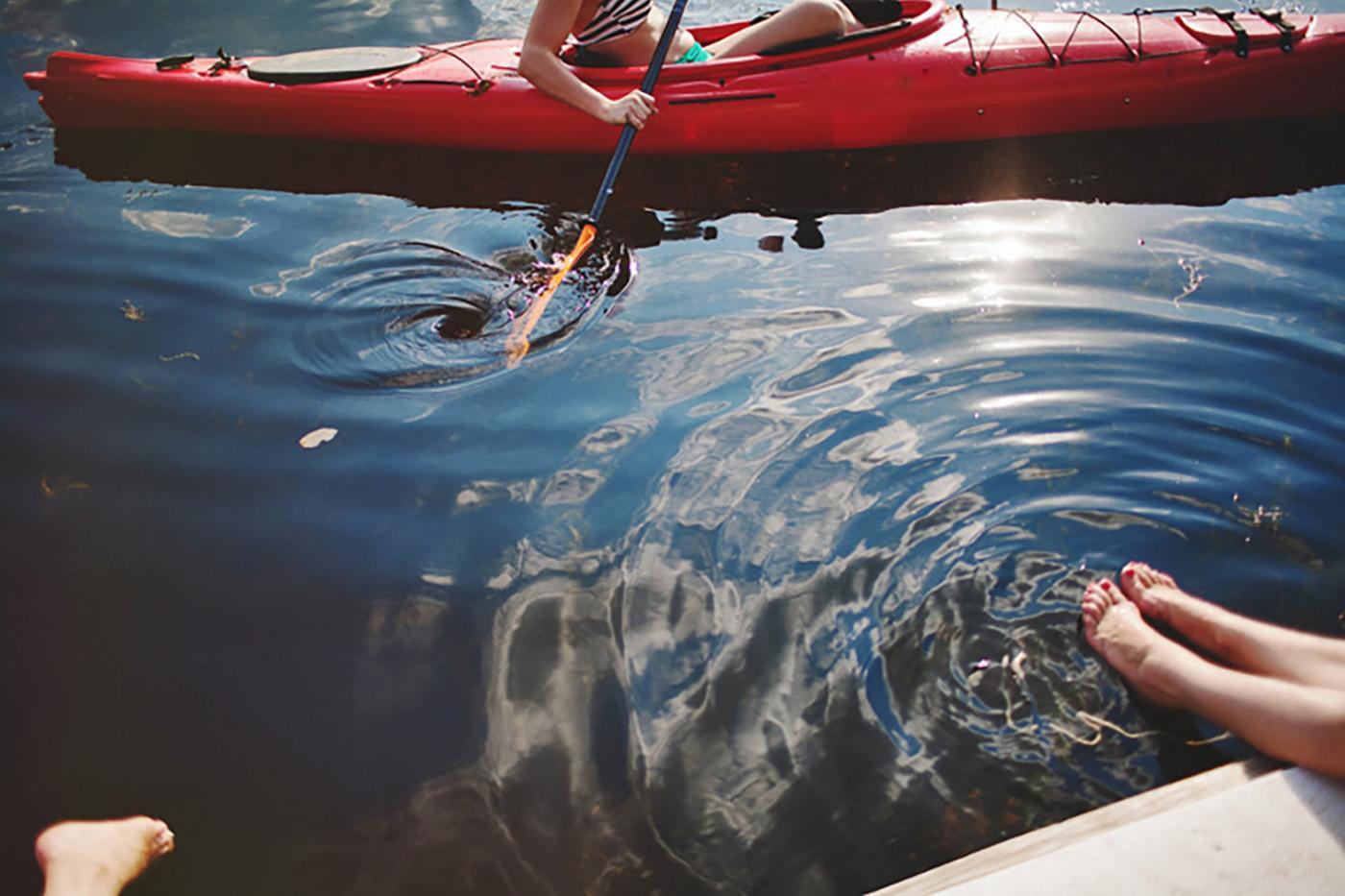 Camping at Lake Wandawega is perfect for a summer getaway.