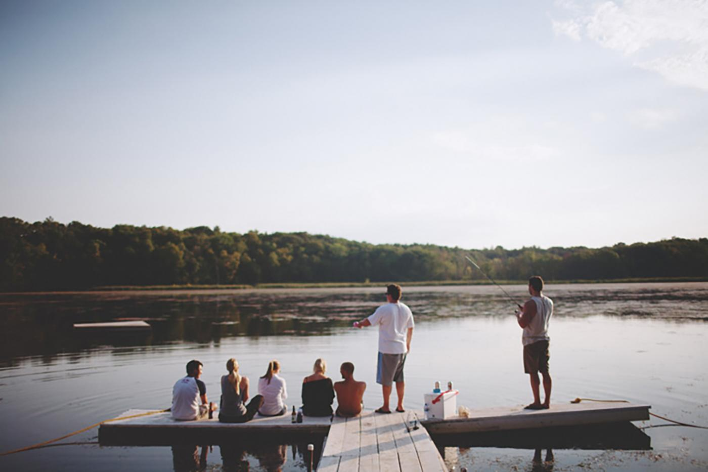 Get together with your family and friends at Camp Wandawega this summer.