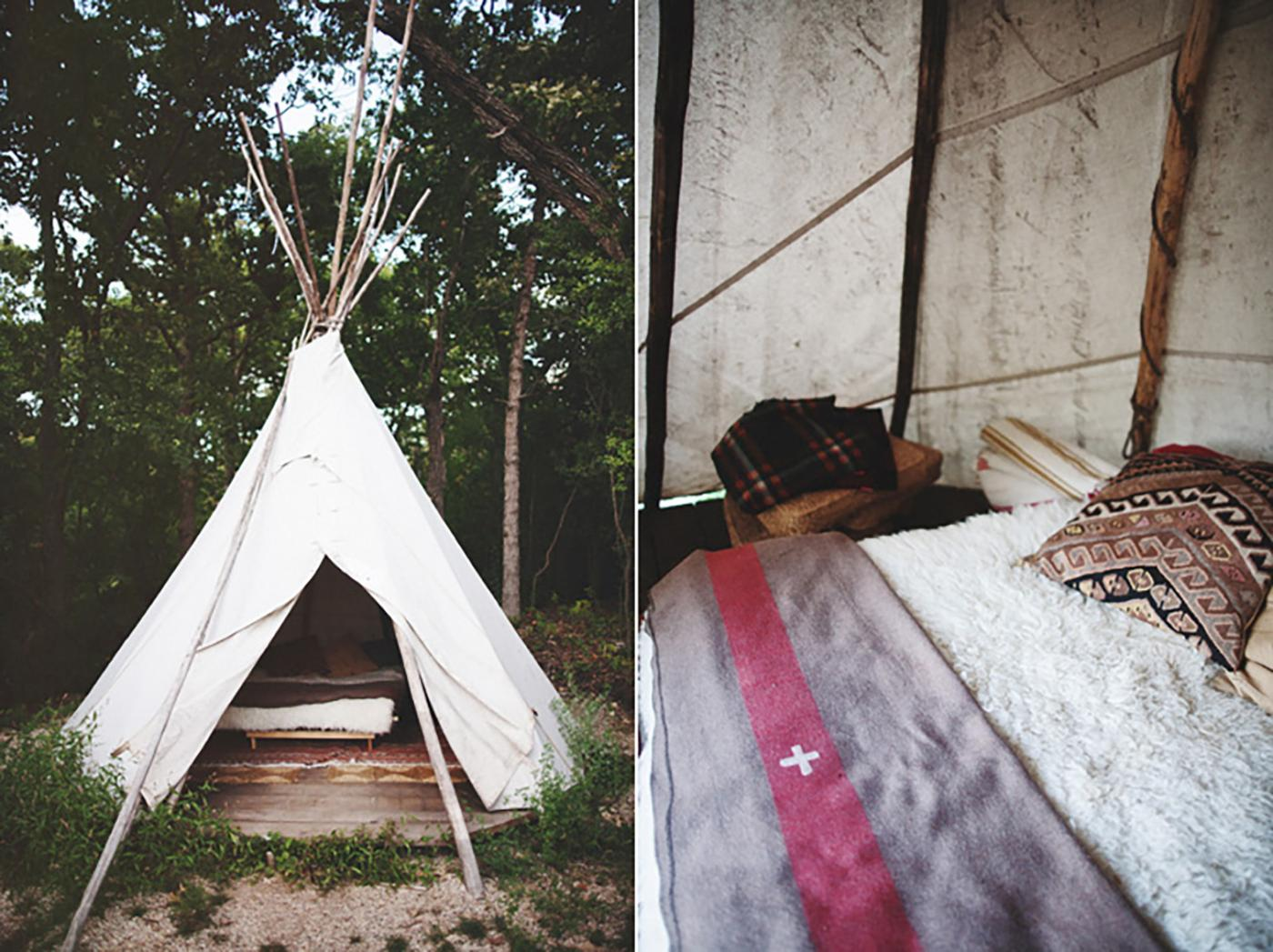 Did someone say glamping? Grab your best friends and head over to Camp Wandawega in Wisconsin.