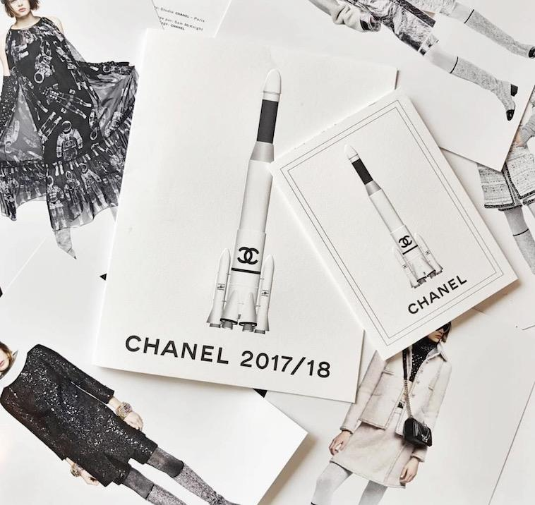 The Gorgeous Invites Behind Chanel's Most Epic Fashion Show