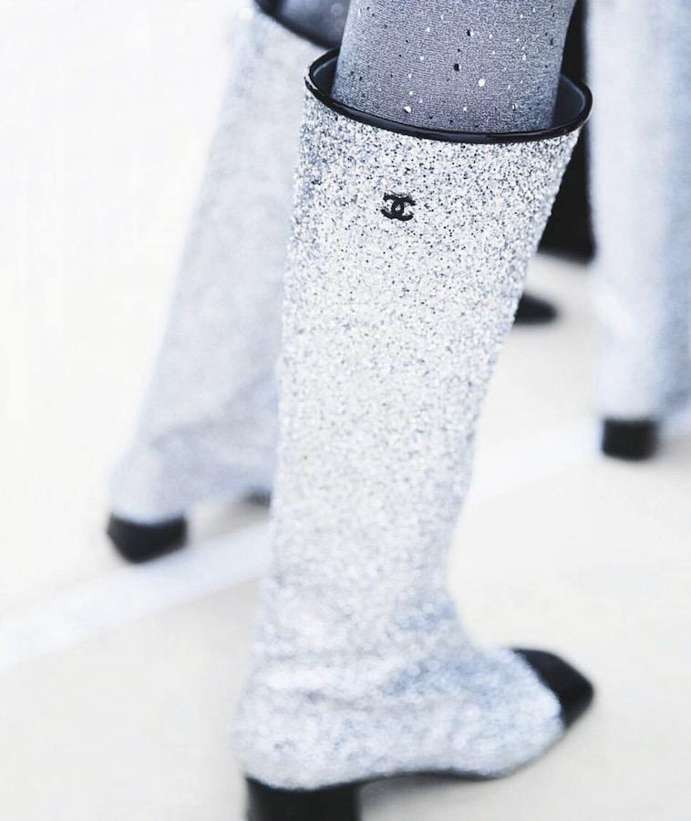 Shine bright like a star in Chanel's new outer space inspired boots