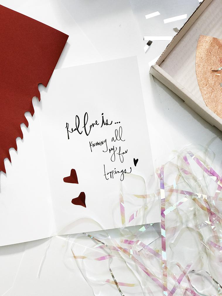Get crafty this year for Valentine's Day with this Card DIY