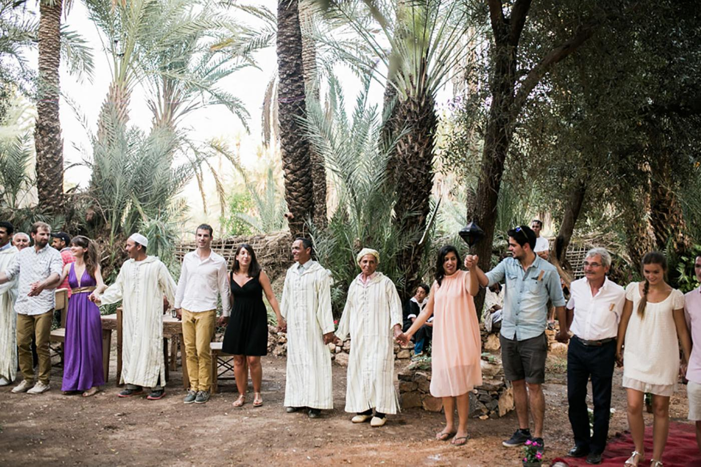 This Destination Jungle Wedding To Morrocco Could Not Have Been Any More Beautiful.