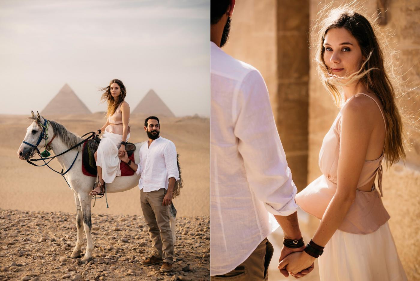 A Magical Wedding Adventure Through The Sparkling Land Of Egypt