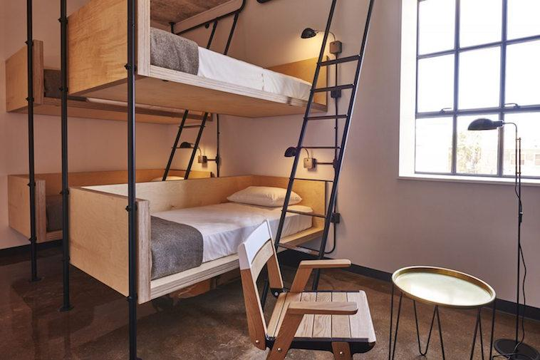 This sleek and modern hostel was designed especially for the millennial explorer.