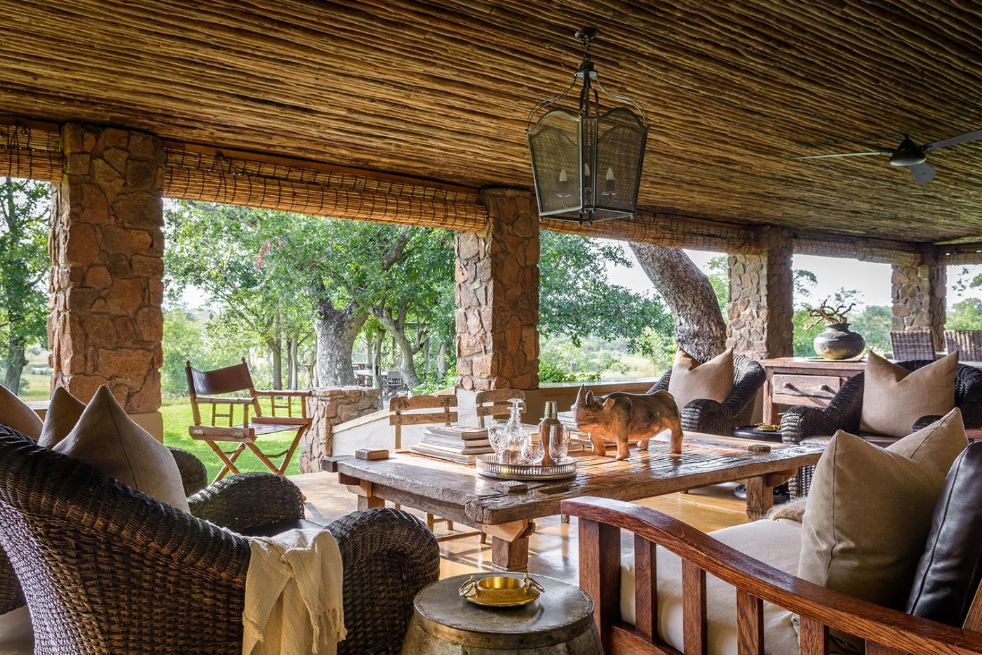 Singita Castleton offers views of South African wildlife.