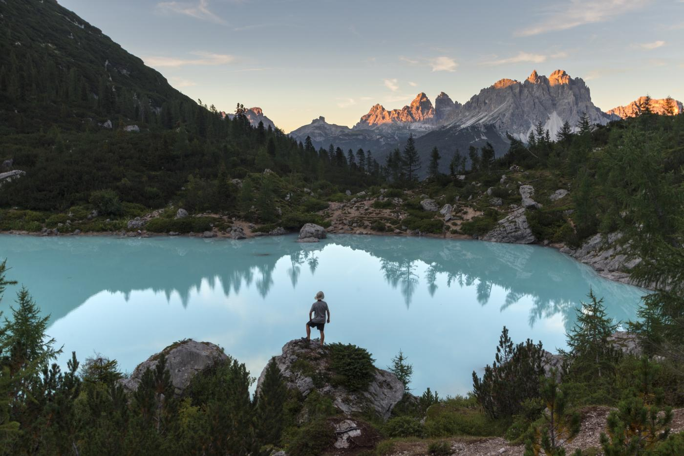 Sorapis Lake South Tyrol