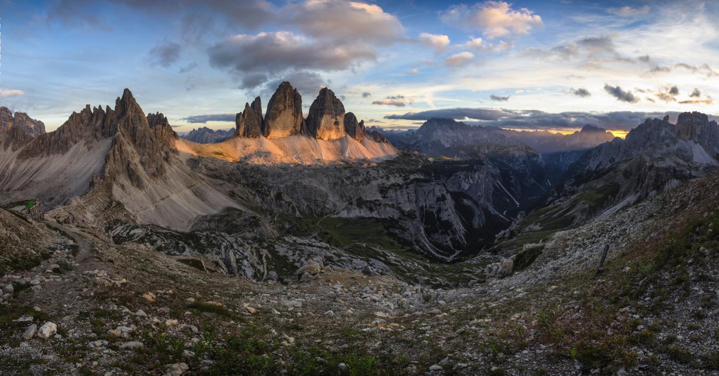 Tre Cime Di Lavaredo South Tyrol