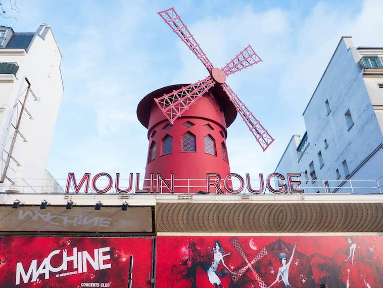 Your route to exploring Paris - Check off Moulin Rouge.