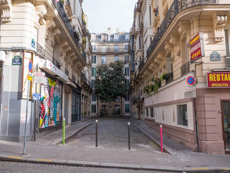 The Paris, France alley ways that are worth strolling down.