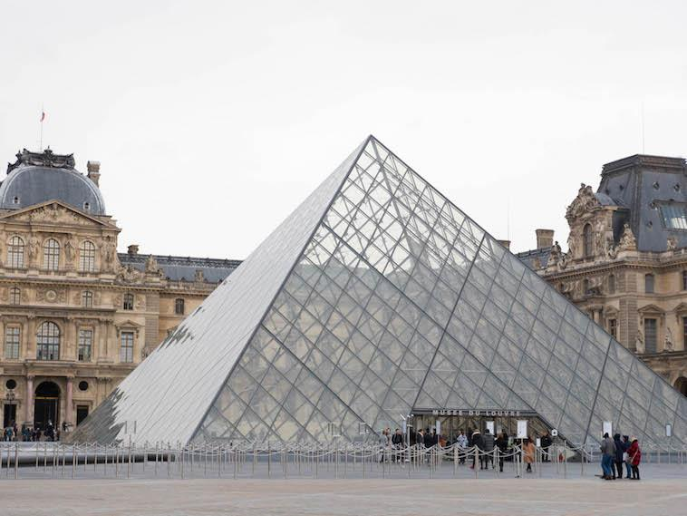 The Louvre Pyramid should be your Paris to-do list.