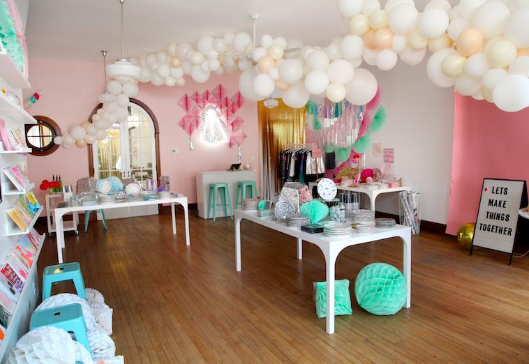 We love a balloon installation and Chicago newest party shop knows how to make any balloon dream come true!