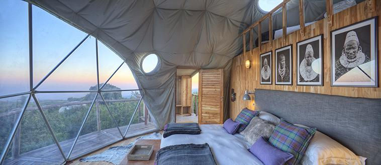 Tanzania's newst resort and safari is more than just your average glamping in luxury dome yurts