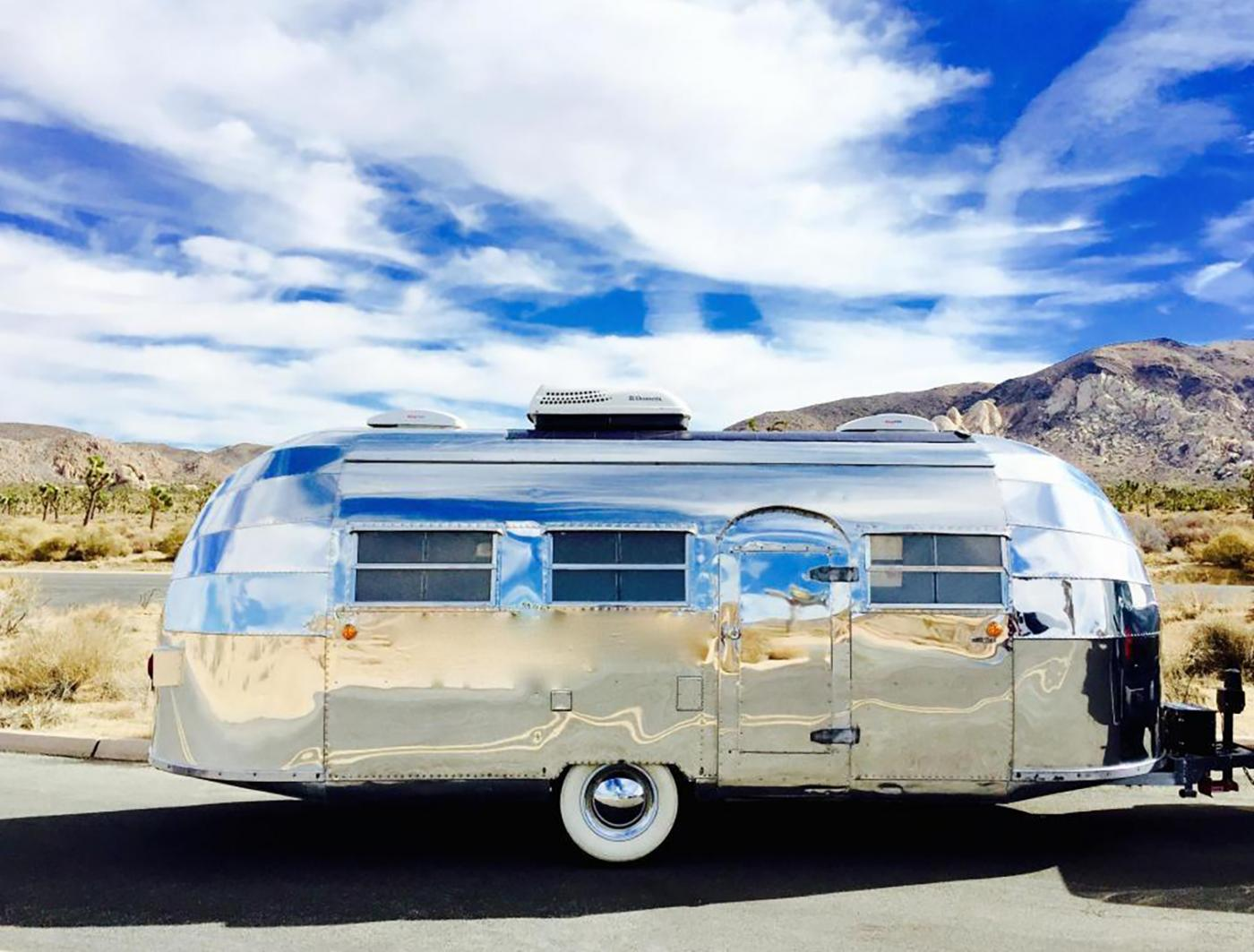 Travel across the nation in this home on wheels