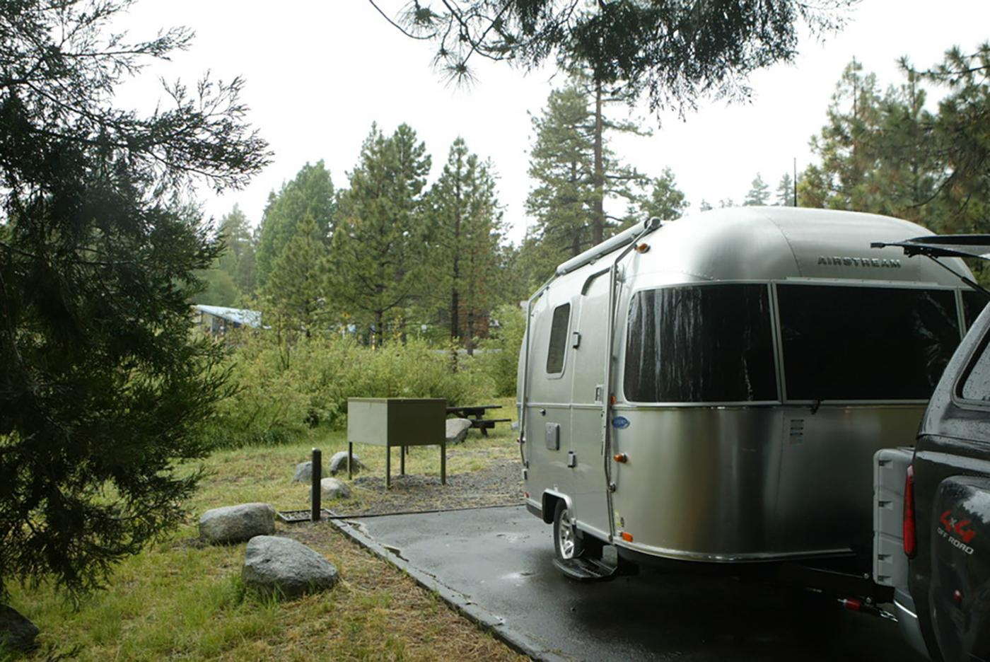 Who wouldn't want to go camping in an Airstream?