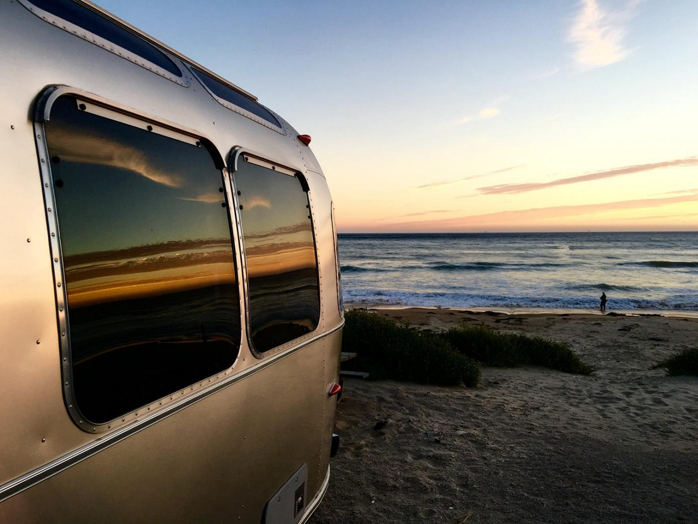 Rent this Airstream RV to make your next summer trip one to remember.