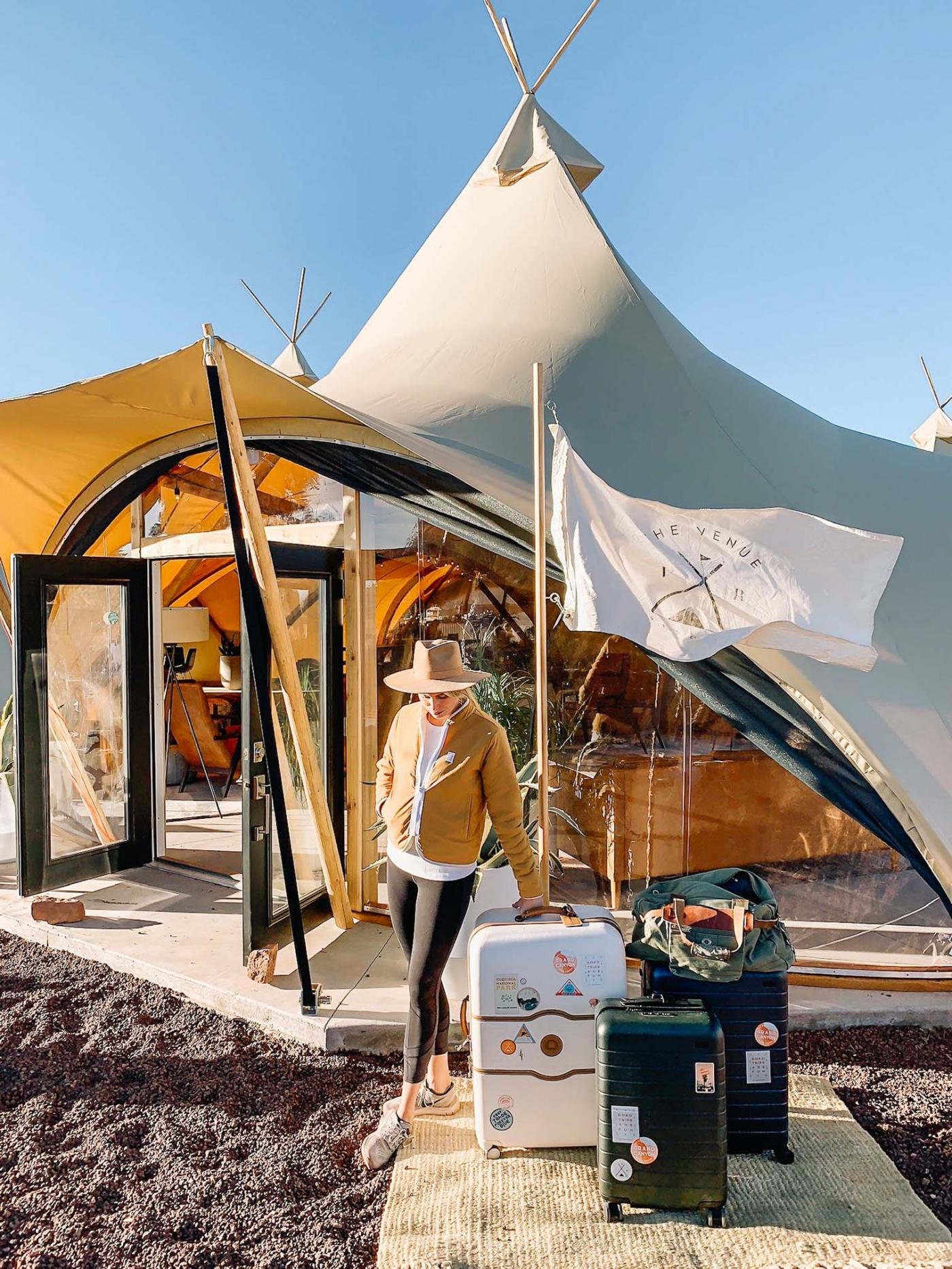 A New Glampsite Just Opened at the Grand Canyon