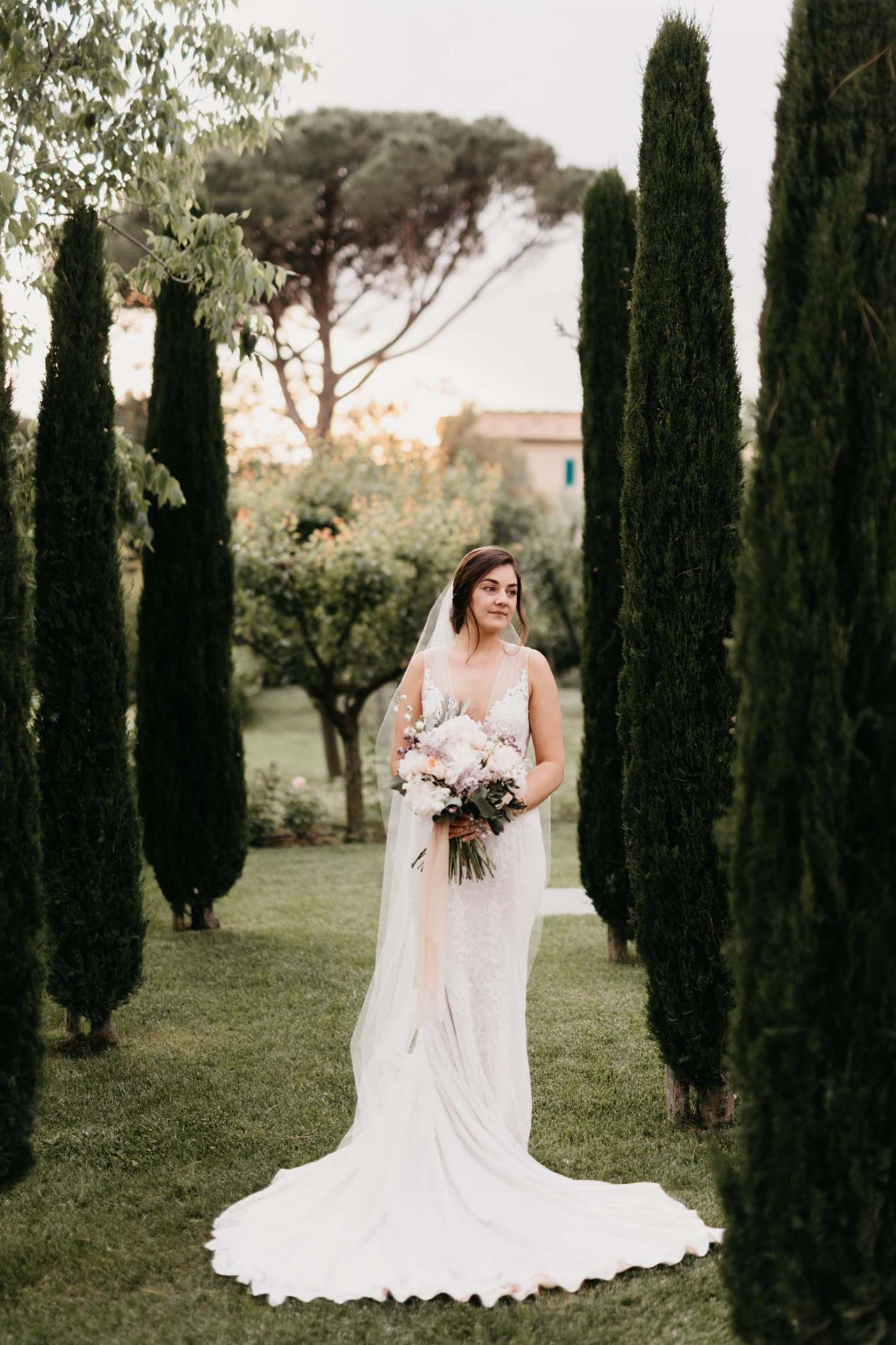 An Under The Tuscan Sun Style Wedding