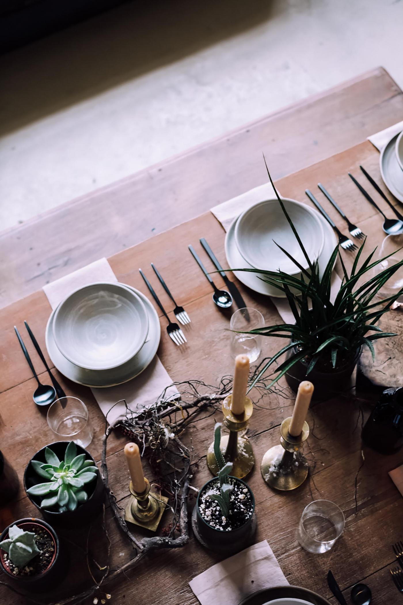 This Winter Feast Was Held in a Vintage Furniture Store