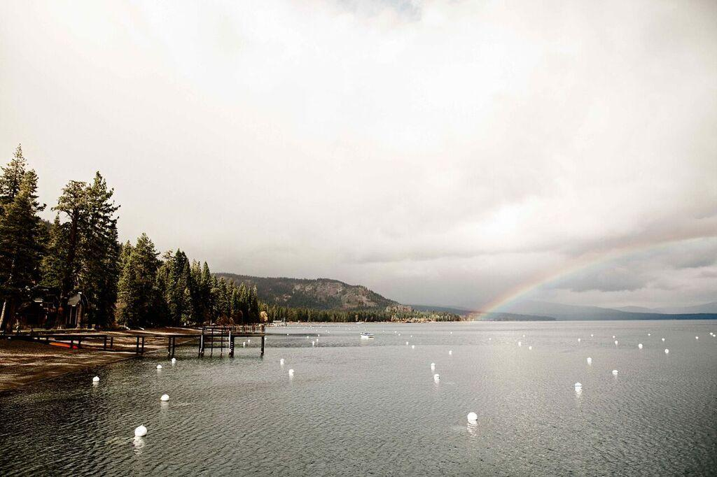 Rainbow over Tahoe