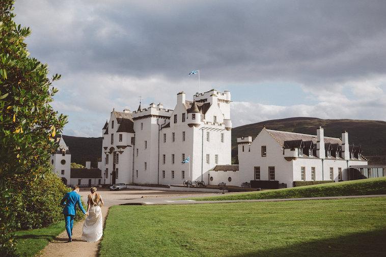 Beautiful Blair Castle Wedding