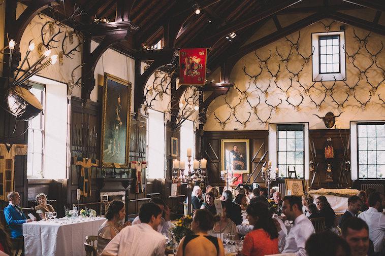 wedding at Blair Castle