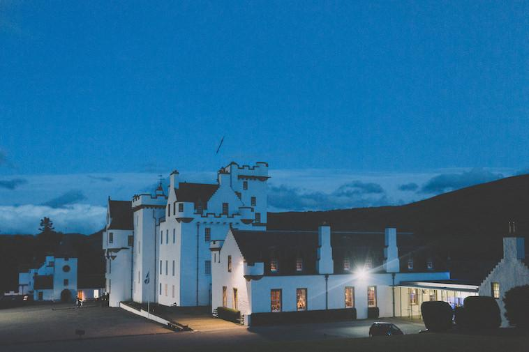 Wedding at Blair Castle in Scotland