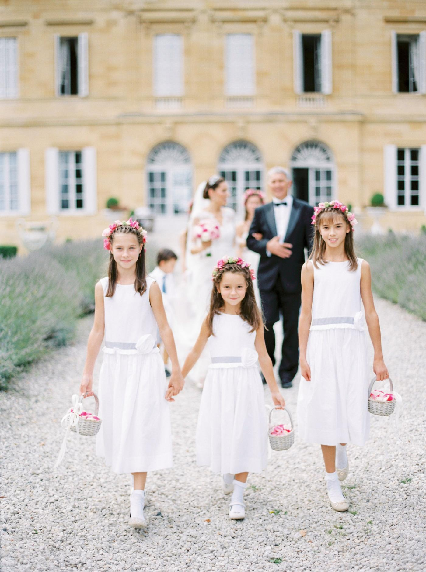 French Wedding at Chateau La Durantie