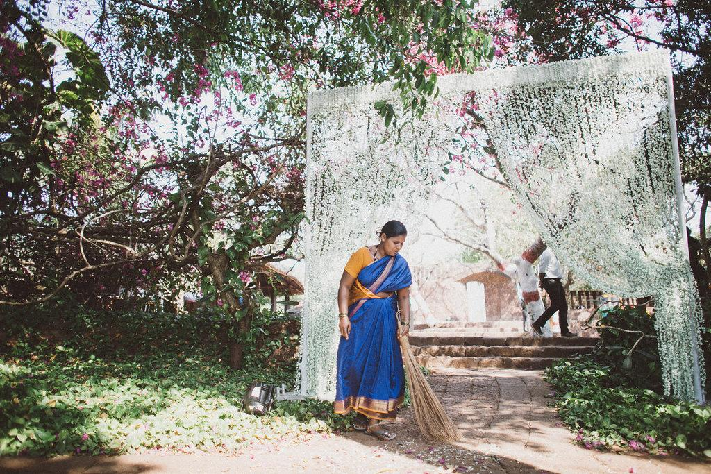 Wedding at Nilaya Hermitage in Goa