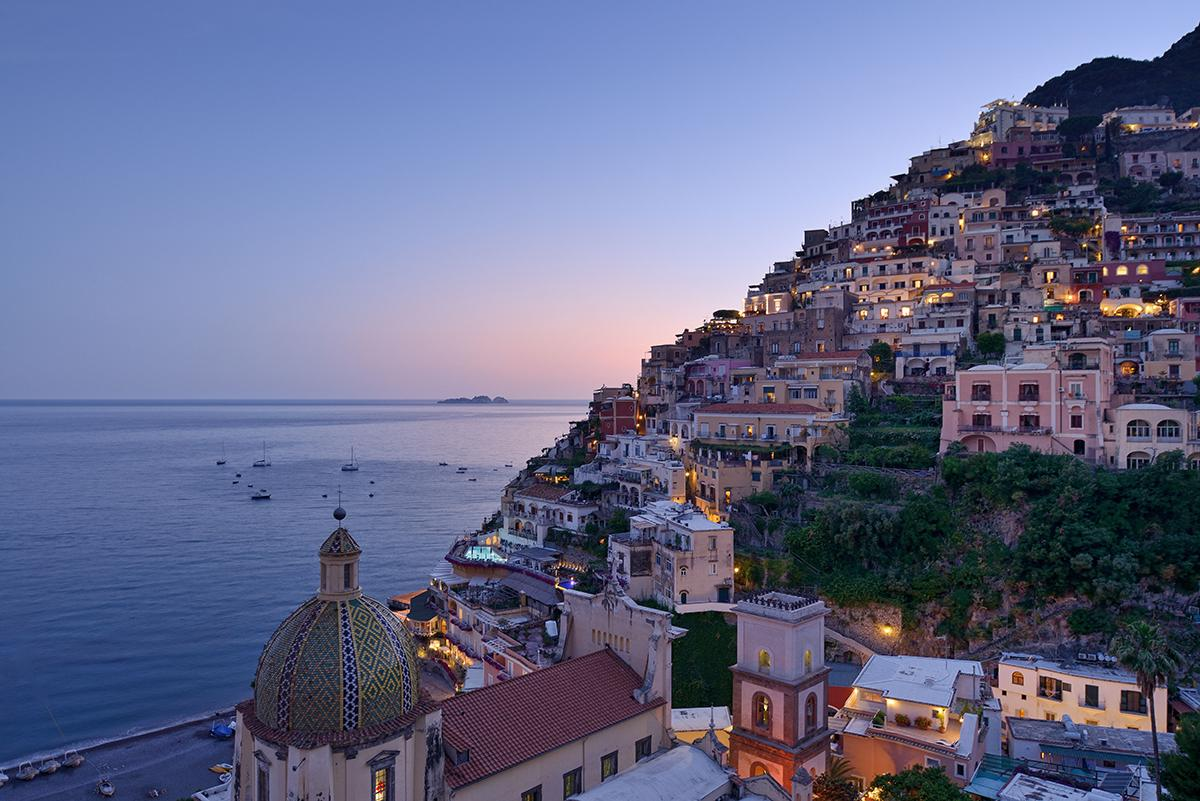 Le Sirenuse on the Amalfi Coast in Italy