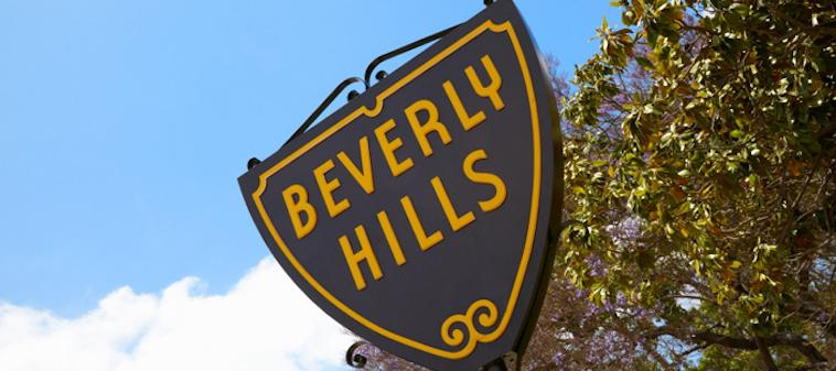 Beverly Hills Sign from Mr Cs
