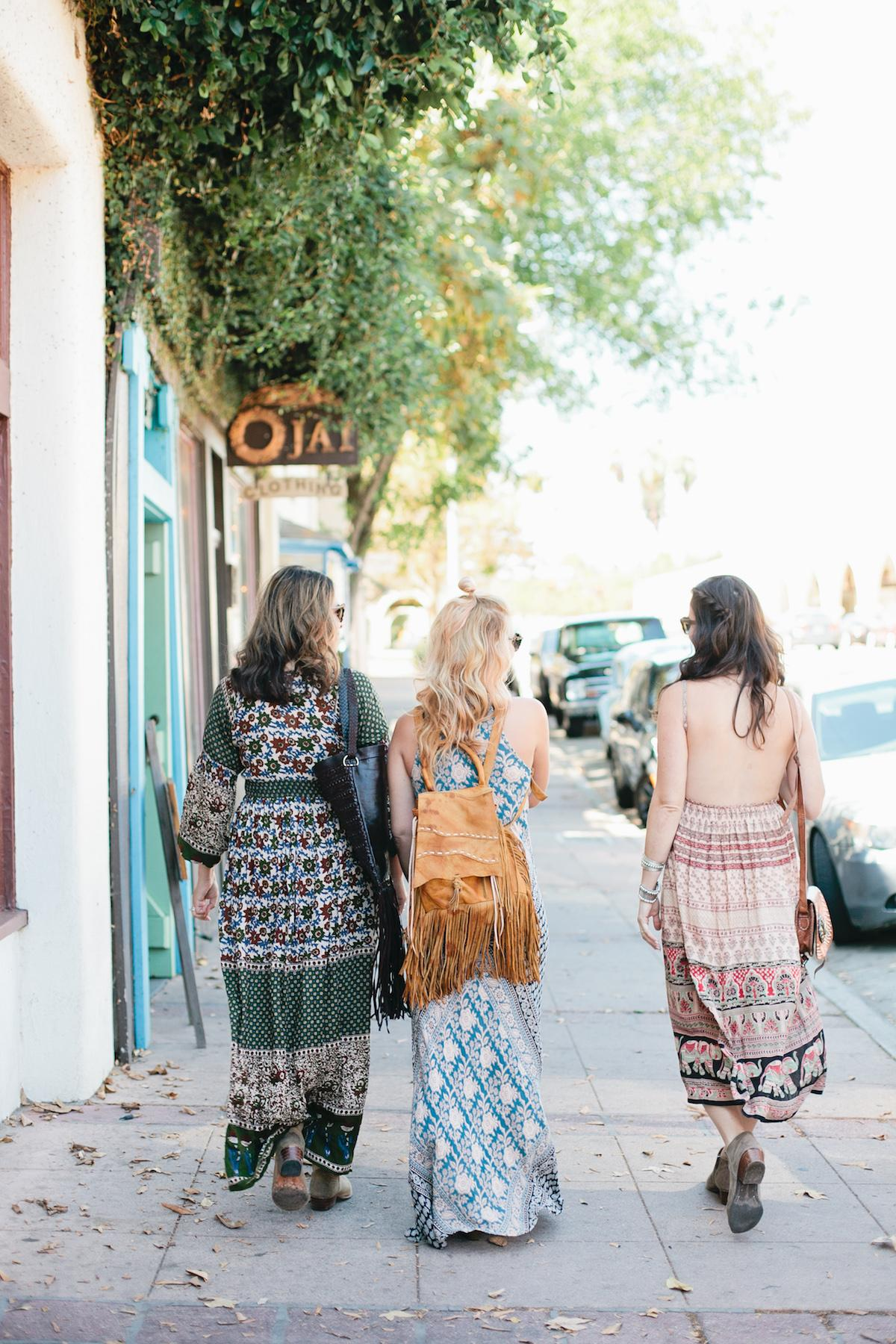 Girls Getaway in Ojai, California