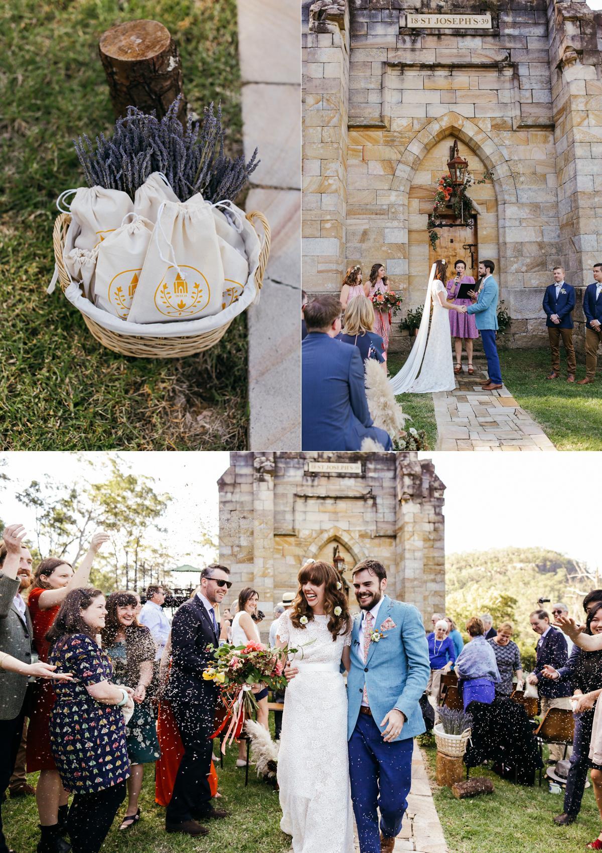 ceremony, confetti