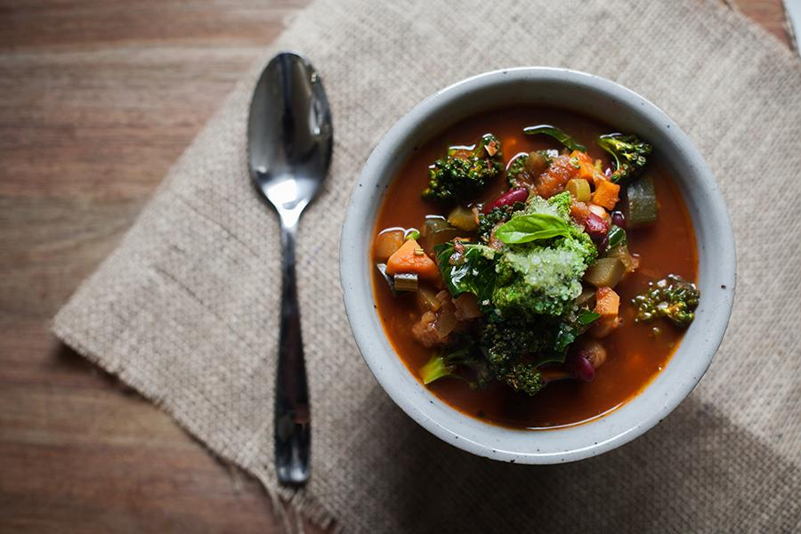Minestone Soup by Two Sister Farms