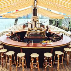 Birthday Bucket List:  Have Your Next Bday Dinner on a Floating Oyster Bar in New York