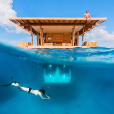 Live Out Your Most Unique Tropical Fantasies with a Stay at an Underwater Suite