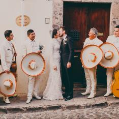 A Sunset Colored, Frida Kahlo Inspired Wedding In The Mexican Jungle