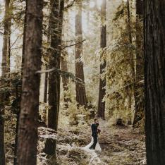 A Dreamy Woodland Wedding at Luxurious Summer Camp in Northern California